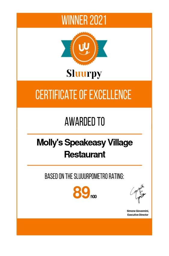 Molly's Speakeasy Village Restaurant - Sluurpy