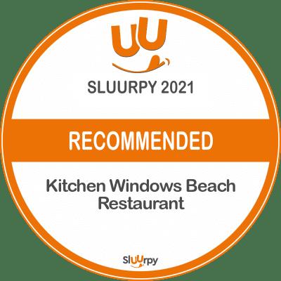 Kitchen Windows Beach Restaurant